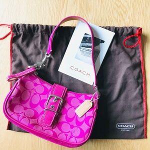 Coach | Signature Demi Magenta Pink Handbag